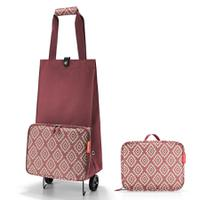 Сумка на колесиках foldabletrolley diamonds rouge, Reisenthel