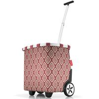 Сумка-тележка carrycruiser diamonds rouge, Reisenthel